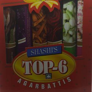 Boîte encens Top 6