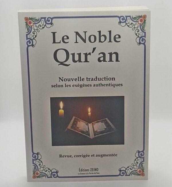 Coran traduit en francais
