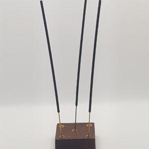 Encensoir encens carré en bois 2