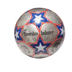 p-12 ballon de foot bazar orient etoile bleu