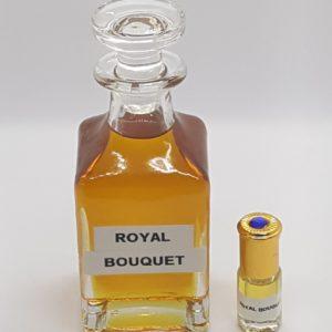 Royal bouquet essence de parfum musc