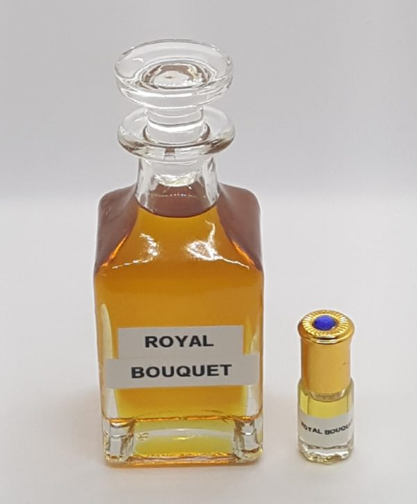 Royal bouquet essence de parfum musc